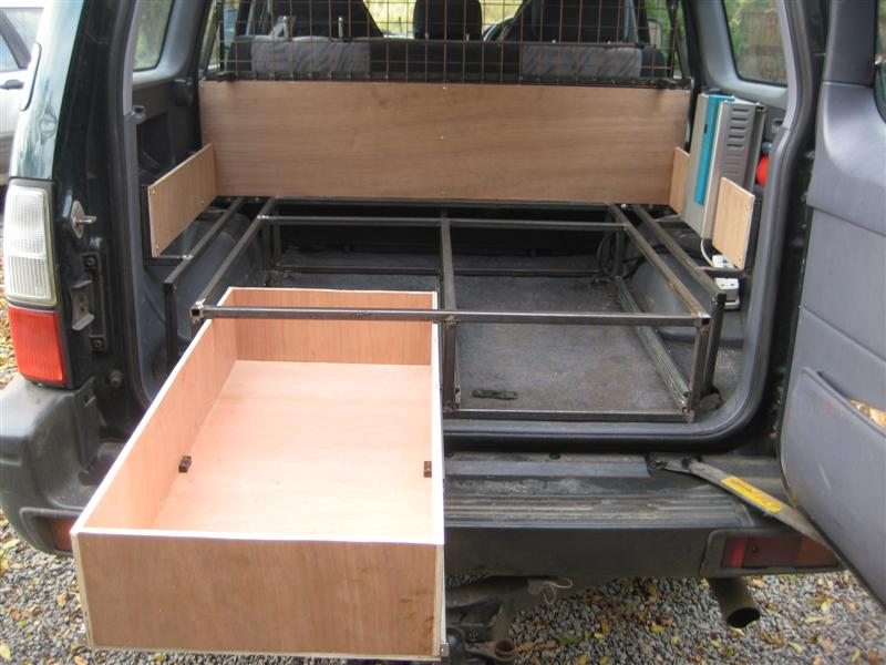 Land Cruiser Club - DIY Drawer System - Gonna have a go.